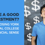 Is College a Good Investment? Choosing York Technical College makes financial sense